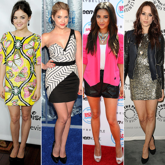 Pretty Little Liars' Leading Ladies: Off Screen and On-Trend