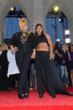 Tionne Watkins and Rozonda Thomas of TLC