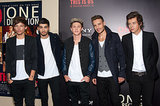 One Direction attended the NYC premiere of their movie.