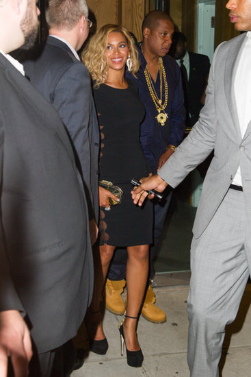 Another Day, Another 'Do: Beyoncé Goes Wavy For a Date Night With Jay Z