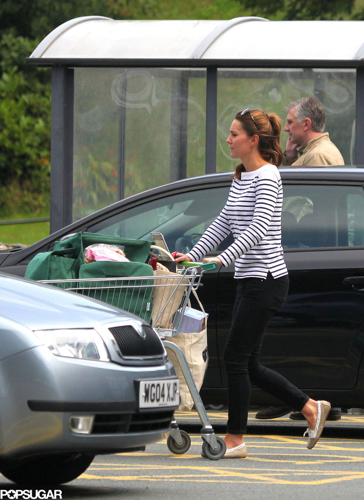 Kate Middleton went shopping on the island of Anglesey.
