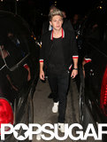 One Direction's Niall Horan partied it up at the Dream Hotel after the VMAs.