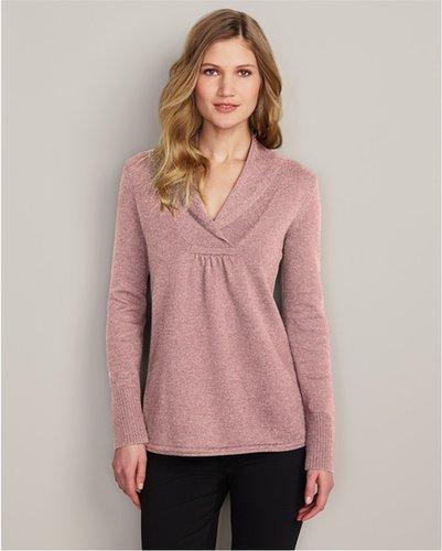 Shawl Collar Sweatshirt Sweater