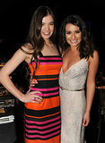 Lea Michele shared a sweet photo with Hailee Steinfeld during the 2011 SAG Awards in LA.