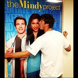 Anders Holm, aka Pastor Casey, got sassy with a promo poster for the show.  Source: Instagram user mindykaling