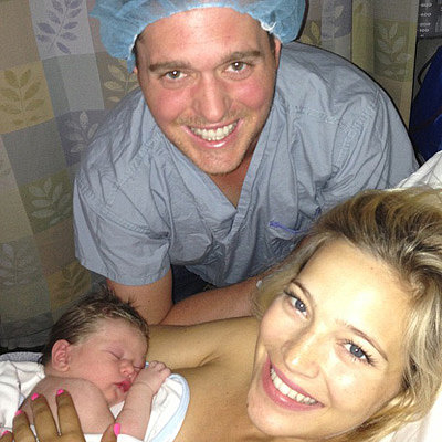Michael Buble and Luisana Lopilato Welcome Son Noah