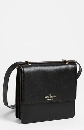 kate spade new york 'mikas pond - nico' crossbody bag Black