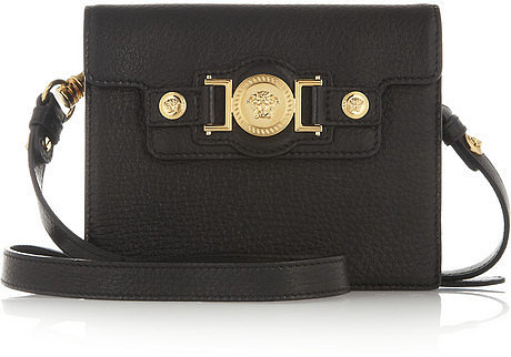 Versace Small leather shoulder bag