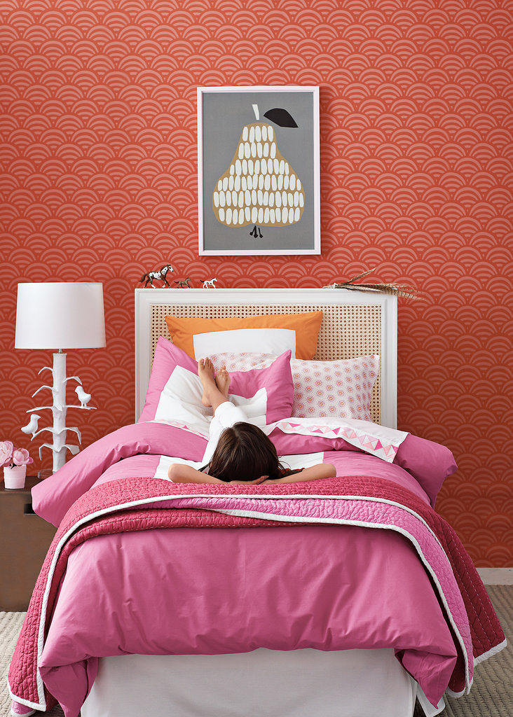 Juice Color Frame Duvet & Shams ($38-$140)