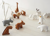 Menagerie Bookends ($58)