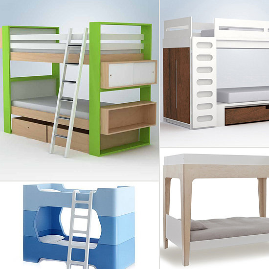 Modern bunk beds for kids popsugar moms for Modern bunk beds for kids