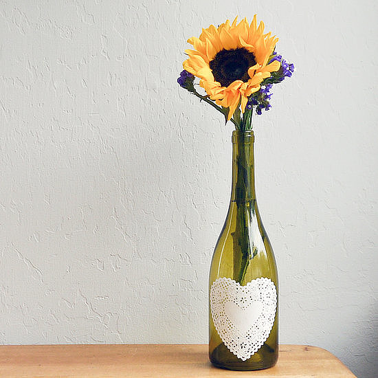 Wine-Bottle Centerpiece