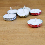 Bottle Cap Candles
