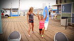 3 Moves to Sexy Surfer Legs From Heidi Klum's Trainer