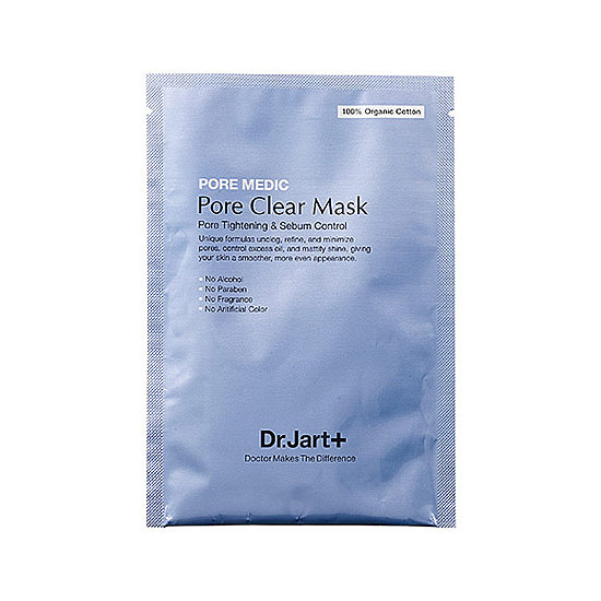 When we get home after a long day at the tents, it's relaxation we crave. That's where this Dr. Jart Pore Medic Pore Clear Mask ($6) comes in handy. We can take 15 minutes to unwind and won't have to worry about acne popping up midweek.