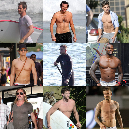See Where Your Favorite Star Ranked in Our 2013 (Mostly) Shirtless Bracket!