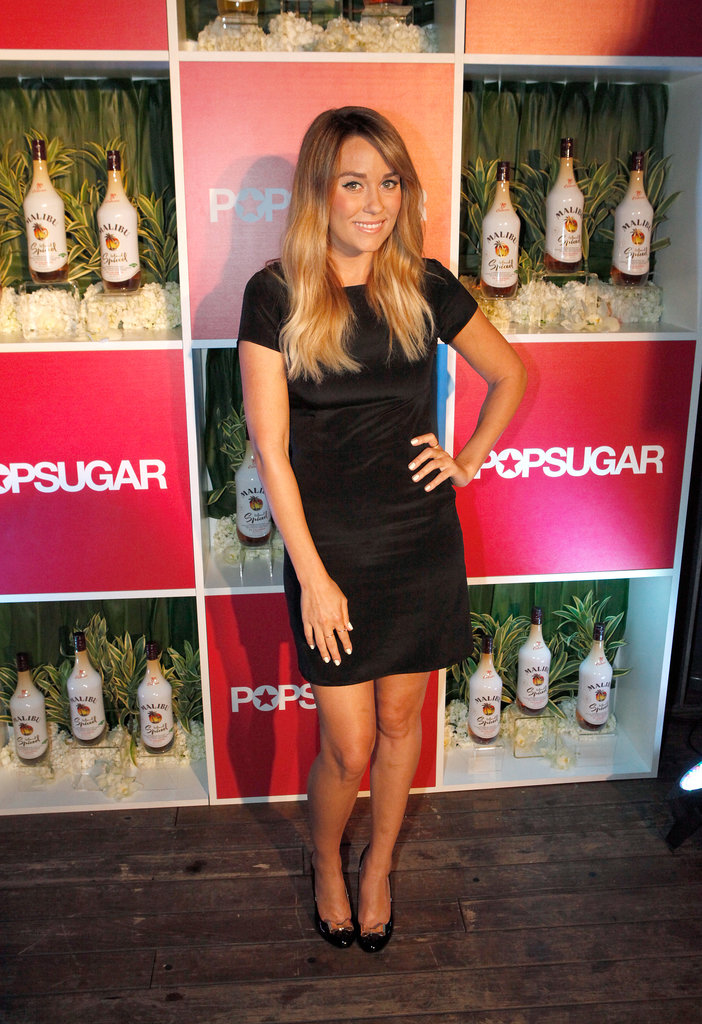 Lauren Conrad struck a pose.