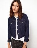 We're officially heading into those tricky transitional days when it's warm at noon and chilly at night. Enter this Levi's denim jacket ($110) to save the day. Wear it over a t-shirt, dress, button-up — really anything! The dark wash will keep things sleek and slightly dressy.  — RK