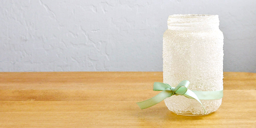 Pretty DIY Epsom Salts Jar