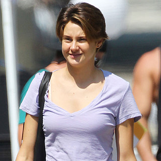 Shailene Woodley Filming The Fault in Our Stars