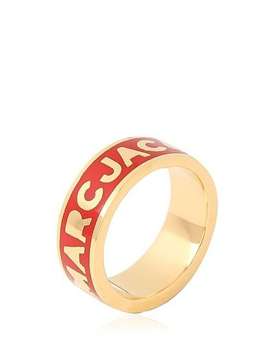 """Marc By Marc Jacobs - """"Dreamy Logo"""" Ring Aus Messing"""