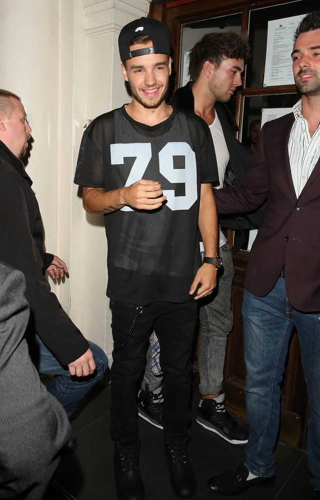 Liam Payne celebrated his birthday in London.