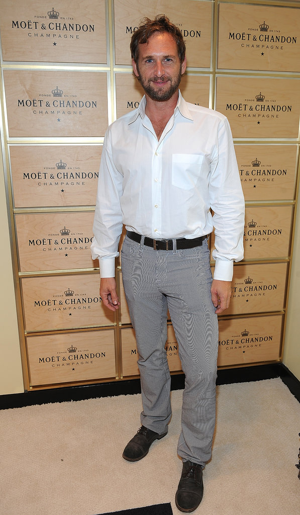 Josh Lucas beat the heat inside the Moet & Chandon suite.
