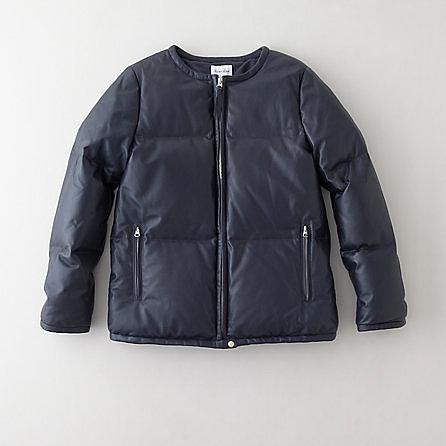 STEVEN ALAN nanette leather down jacket