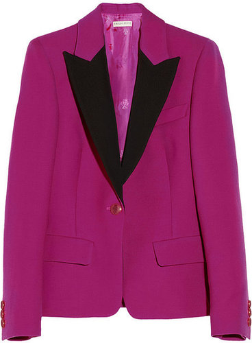 Emilio Pucci Wool and silk-blend blazer