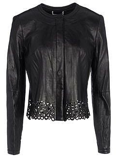 DIANE VON FURSTENBERG Leather outerwear