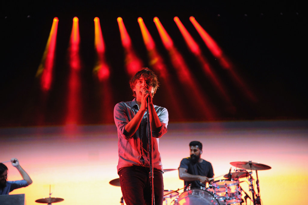 Phoenix took the stage on day one of the festival.
