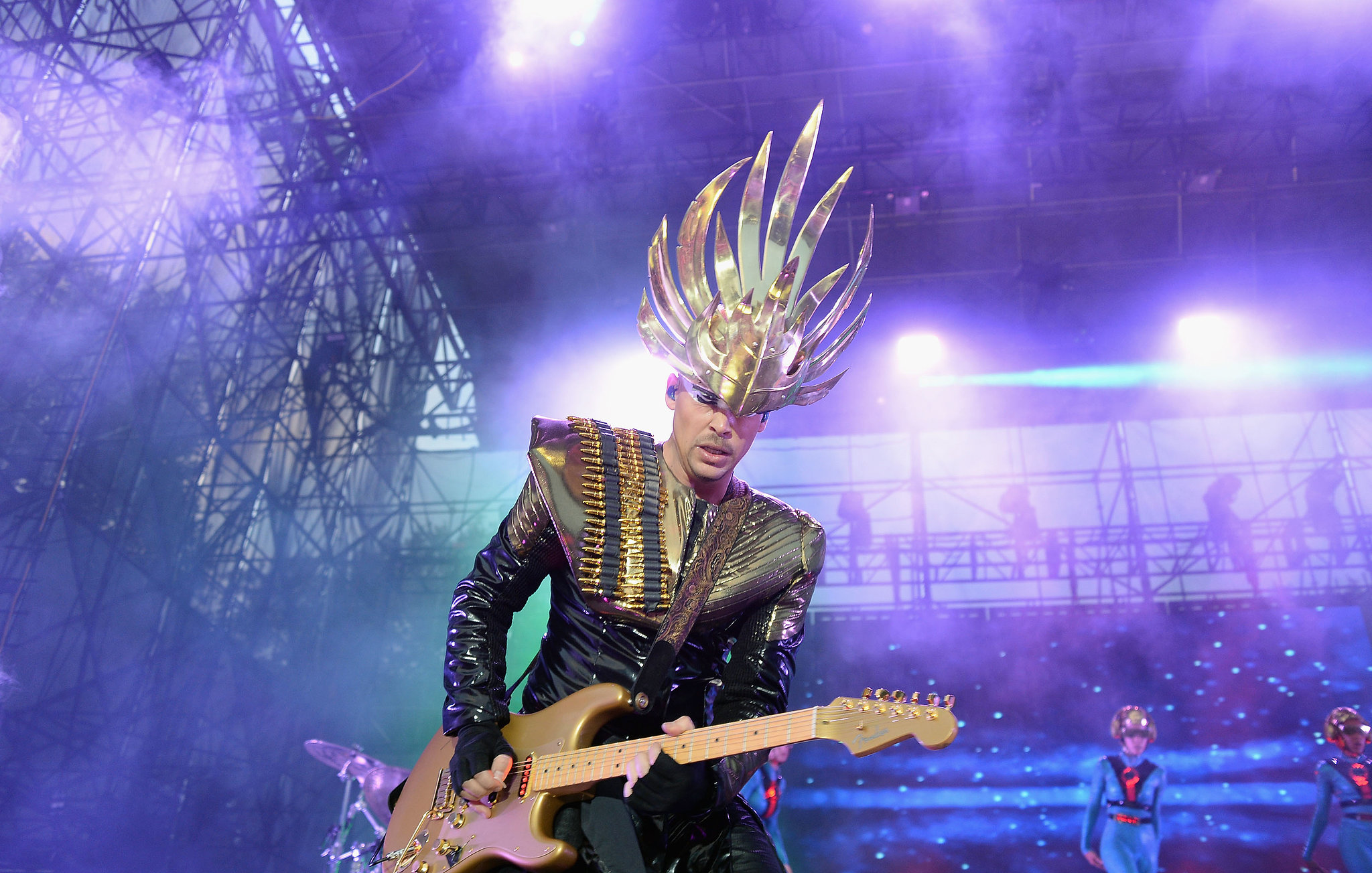 Empire of the Sun took the stage during day one of the festival.