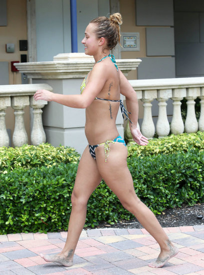 Hayden Panettiere visited Miami Beach, FL, over Labor Day weekend.