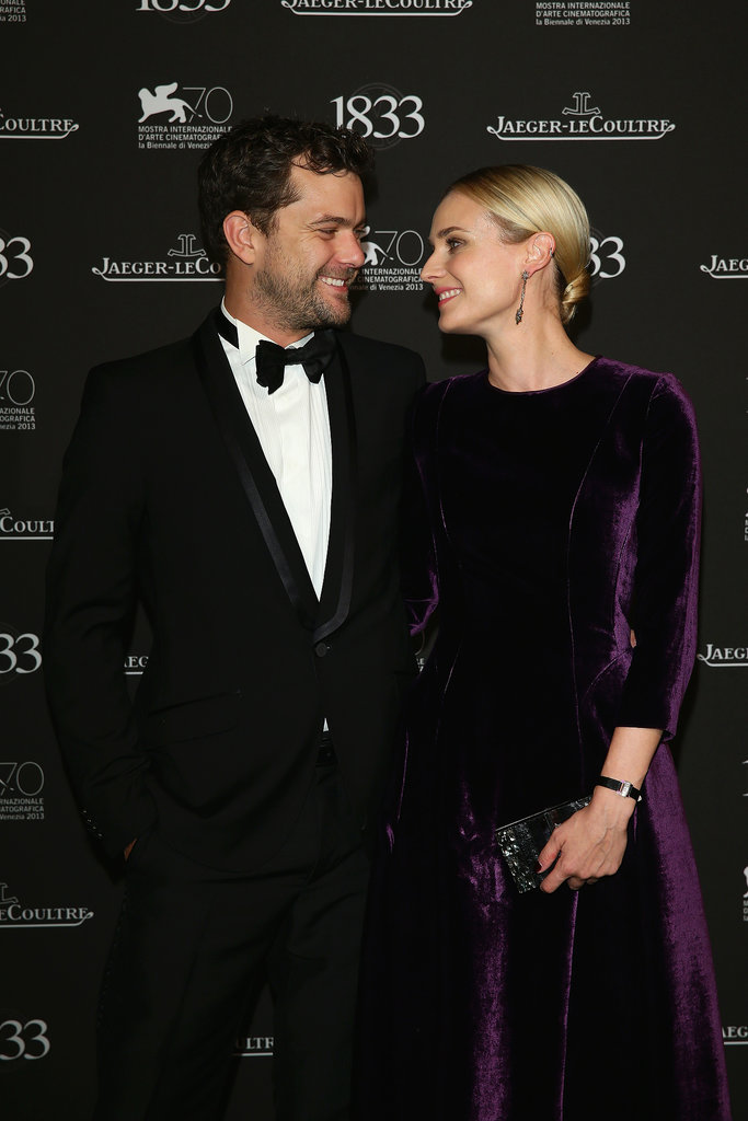 Joshua Jackson and Diane Kruger shared a look of love at the Venice Film Festival.