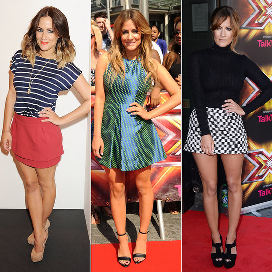 Caroline Flack Has a Signature Look and She's Not Ditching It Anytime Soon