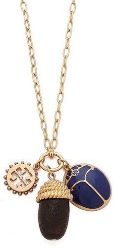 Tory burch Winslow Acorn Charm Necklace