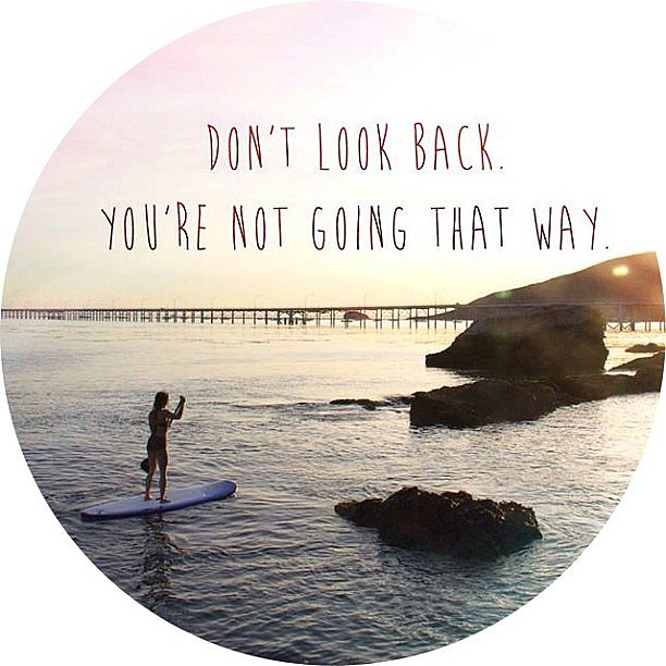 Reminding us to always look forward. Source: Instagram user mikayogawear