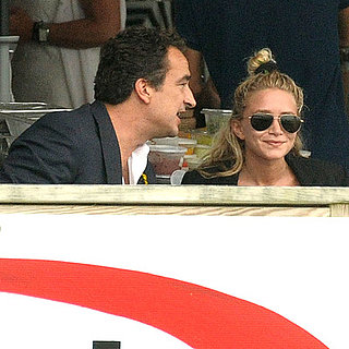 Mary-Kate Olsen and Sofia Vergara at the Hamptons Classic