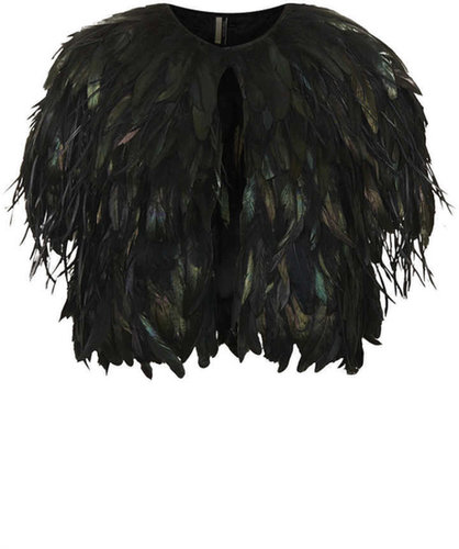 Feather Capelet