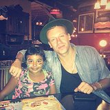 Macklemore celebrated his goddaughter's birthday. Source: Instagram user macklemore