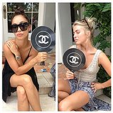If Julianne Hough's aren't the chicest paddles we've ever seen!  Source: Instagram user juleshough
