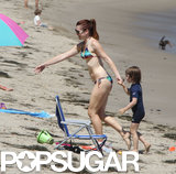Everything's Beachy Keen For Bikini-Clad Alyson Hannigan