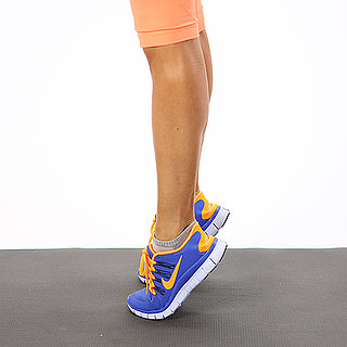Fit Tip: Walk Around on Your Tiptoes
