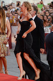 Scarlett Johansson hit the red carpet in Venice.