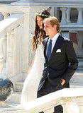 Andrea Casiraghi and Tatiana Santo Domingo The Bride: Tatiana Santo Domingo, the daughter of the late Columbian businessman Julia Santo Domingo. The Groom: Andrea Casiraghi, who's second in line to Monaco's throne, the son of Princess Caroline, and grandson of Grace Kelly. When: Aug. 31, 2013 Where: Monte Carlo