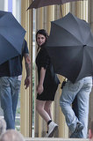 Kristen Stewart hit the set of Sils Maria in Berlin.