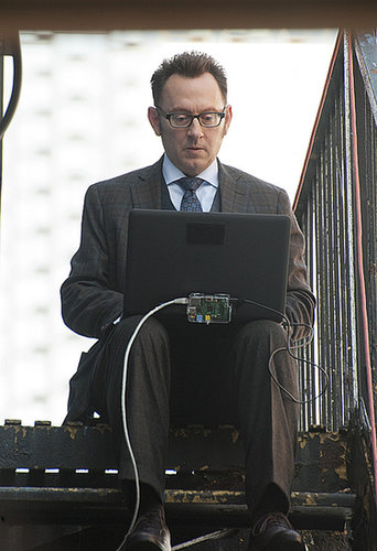 Person of Interest Michael Emerson in the season premiere of Person of Interest, airing Sept. 24 on CBS.