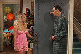 The Big Bang Theory Kaley Cuoco and Jim Parsons on The Big Bang Theory.
