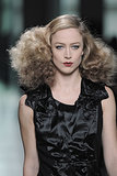On the Bottega Veneta Autumn 2013 runway, models sported fluffed up curls with a 1940s feel.