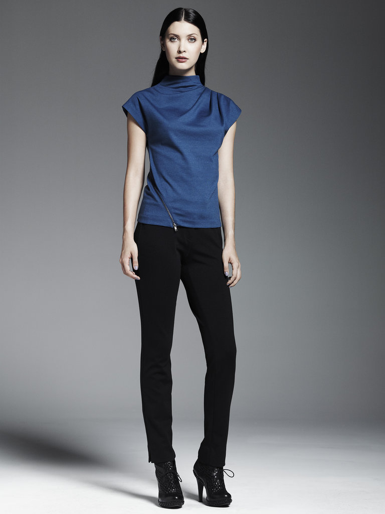 Ponte Side-Zip Top ($48), Ponte Pants ($54) Photo courtesy of Kohl's